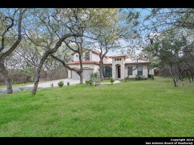 Helotes Single Family Home New: 15385 Flying Circle