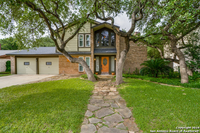 San Antonio Single Family Home New: 4614 Spotted Oak Woods