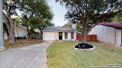 Converse Single Family Home New: 8711 Sleepy Meadows