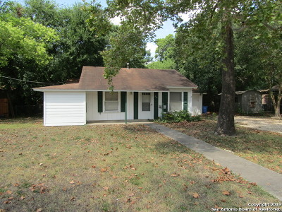 Seguin Single Family Home New: 212 Romberg St