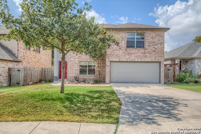 San Antonio Single Family Home New: 9227 Gambier Dr