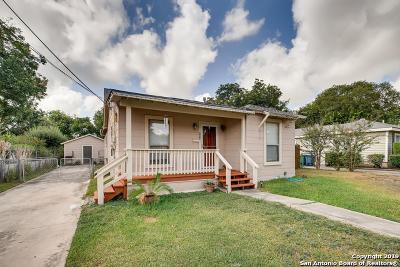 San Antonio Single Family Home New: 420 Burcham Ave