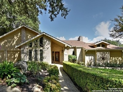 San Antonio Single Family Home New: 3678 Hunters Cliff