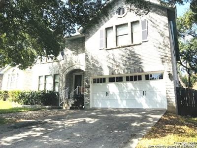 San Antonio Single Family Home New: 9535 Maidenstone Dr