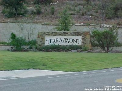 San Antonio Residential Lots & Land New: 19715 Terra Mont