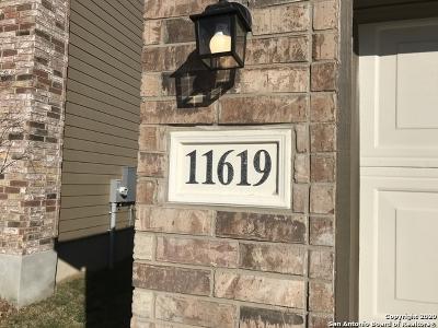 San Antonio Single Family Home New: 11619 Blackmore Leap