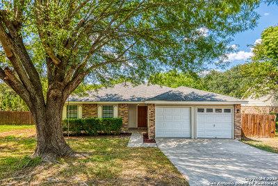 San Antonio Single Family Home New: 8707 Welles Edge Dr