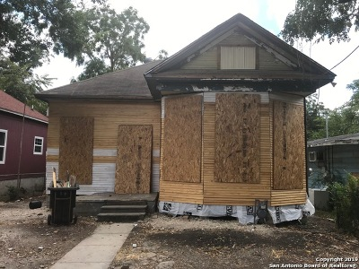 San Antonio Single Family Home New: 632 Porter St