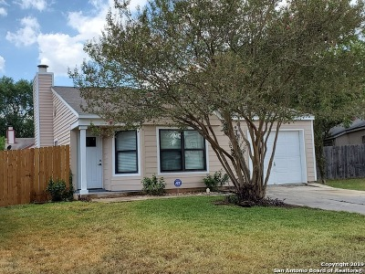San Antonio Single Family Home New: 4025 Colonial Sun Dr