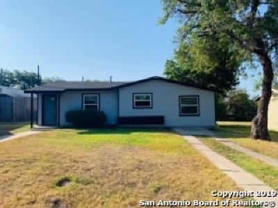 San Antonio Single Family Home New: 752 Linda Lou Drive