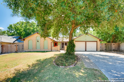 San Antonio Single Family Home New: 6810 Winter Lake St