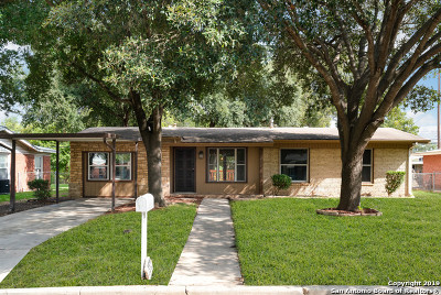 Jbsa Ft Sam Houston Single Family Home New: 571 Radiance Ave