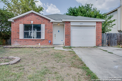 San Antonio Single Family Home New: 9451 Celine Dr