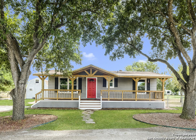 Guadalupe County Single Family Home New: 651 Old Seguin Luling Rd
