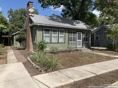 San Antonio Single Family Home New: 125 Magnolia Dr