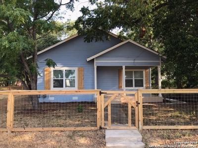 San Antonio Single Family Home New: 125 Hedges St
