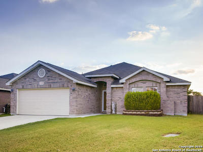 Helotes Single Family Home New: 10423 Alsfeld Ranch