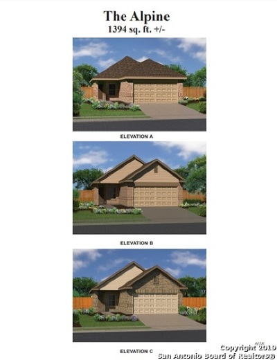 San Antonio Single Family Home New: 138 Javelina Hill