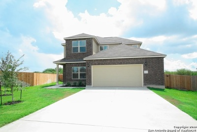 Cibolo Single Family Home New: 633 Saddle Forest