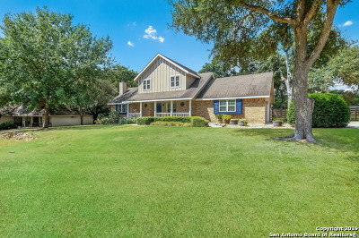 Comal County Single Family Home New: 1161 Flaming Oak Dr