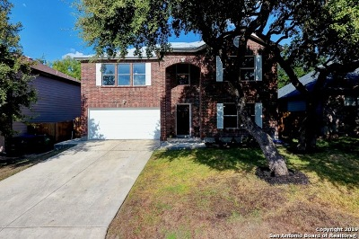 San Antonio Single Family Home New: 406 Upland Creek