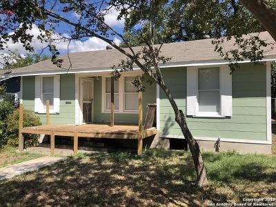 San Antonio Single Family Home New: 1431 Delaware St
