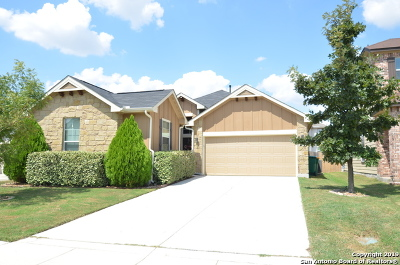 Converse Single Family Home New: 9907 Copper Rise