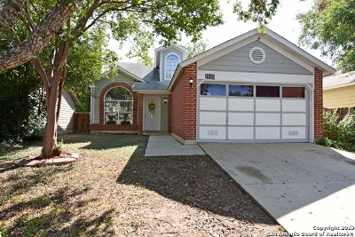 Bexar County Single Family Home New: 2866 Almond Field Dr