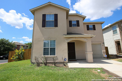 Bexar County Single Family Home New: 79 Booker Palm