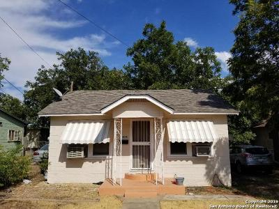 Bexar County Single Family Home New: 1206 S Walters St
