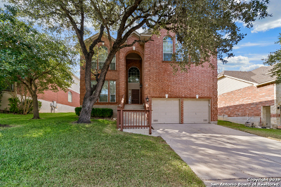 Bexar County Single Family Home New: 10038 Ramblin River Rd