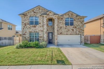 Converse Single Family Home New: 9838 Red Iron Creek