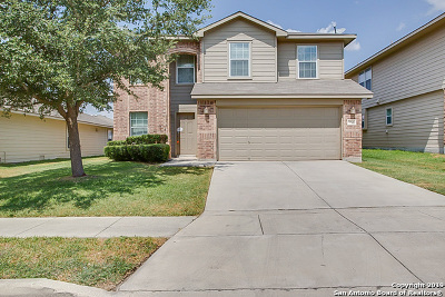 Cibolo Single Family Home New: 352 Wagon Wheel Way