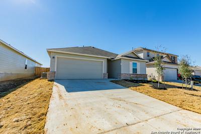 Converse Single Family Home New: 10718 Francisco Way