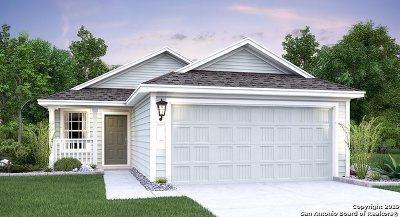 Converse Single Family Home New: 8430 Cassia Cove
