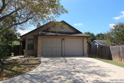 San Antonio Single Family Home New: 3314 Stoney Mist