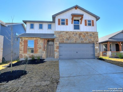 San Antonio Single Family Home New: 11624 Troubadour Trail