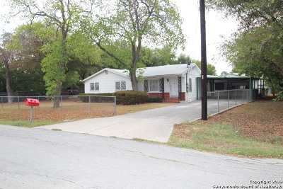 San Antonio TX Single Family Home New: $100,000