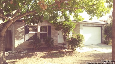 Converse Single Family Home New: 602 Meadow Gate