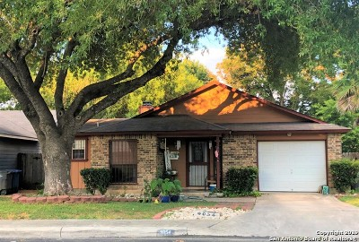San Antonio TX Single Family Home New: $168,000