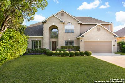 San Antonio Single Family Home New: 18303 Cabin Rd