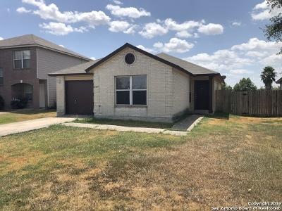 Converse Single Family Home New: 6607 Flatstone Pass