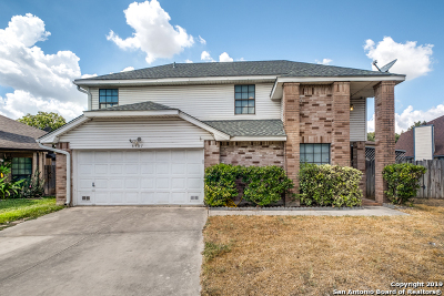 San Antonio Single Family Home New: 3507 Pavillion Circle