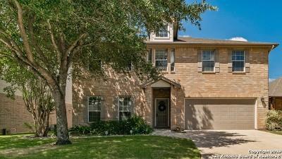 San Antonio Single Family Home New: 24719 Crescent Run