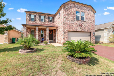 Converse Single Family Home New: 9911 Copper Rise