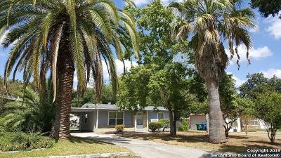 San Antonio Single Family Home Price Change: 339 Creath Pl