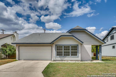 Converse Single Family Home New: 9847 Fortune Ridge Dr