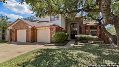 San Antonio Single Family Home New: 18027 Green Knolls