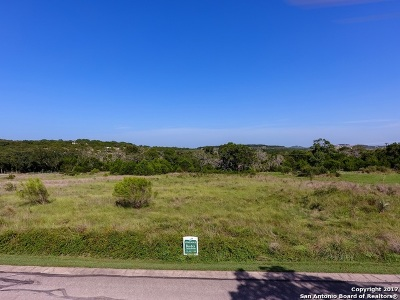 Boerne Residential Lots & Land Back on Market: 25014 Caliza Cove