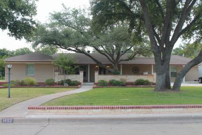 San Angelo Single Family Home For Sale: 1402 S Madison St